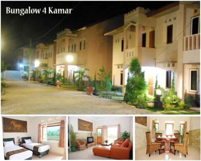 Bungaow 4 Kamar